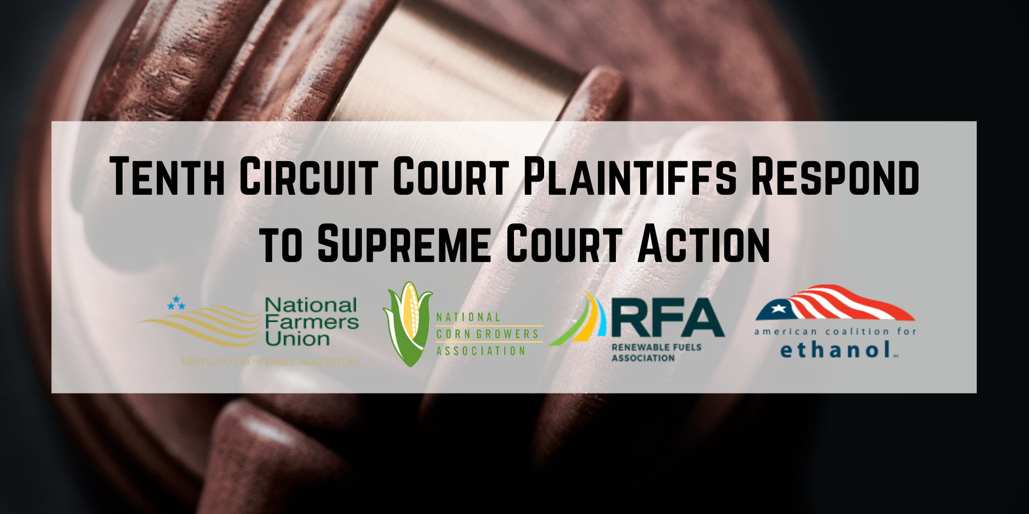 Tenth Circuit Court Plaintiffs Respond to Supreme Court Action