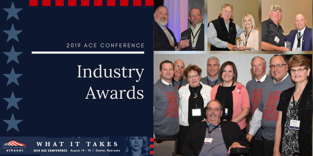 ACE honors ethanol industry contributors with 2019 awards
