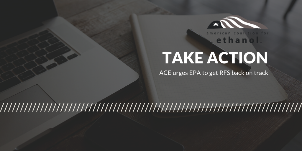 ACE urges EPA to get RFS back on track