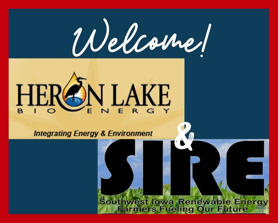 ACE welcomes ethanol producer members Heron Lake BioEnergy and Southwest Iowa Renewable Energy