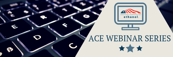 ACE webinar delivers ethanol market development progress report domestically and abroad