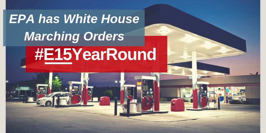 ACE applauds President Trump's E15 year-round announcement