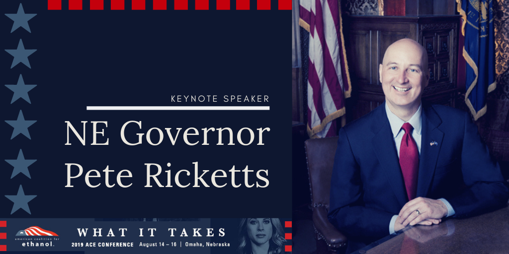 ACE welcomes Governor Ricketts to 32nd annual conference