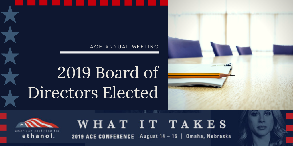 ACE elects board of directors at annual meeting