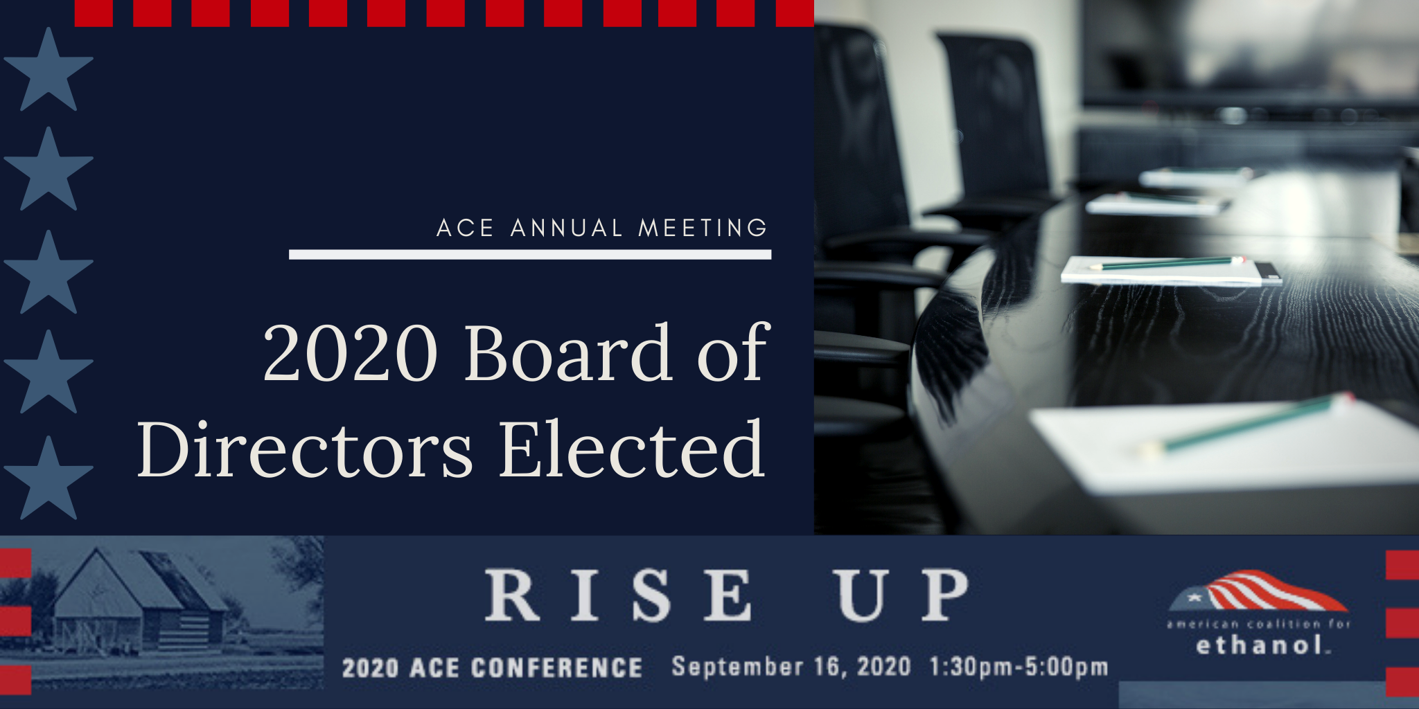 ACE Elects Board of Directors During Annual Business Meeting