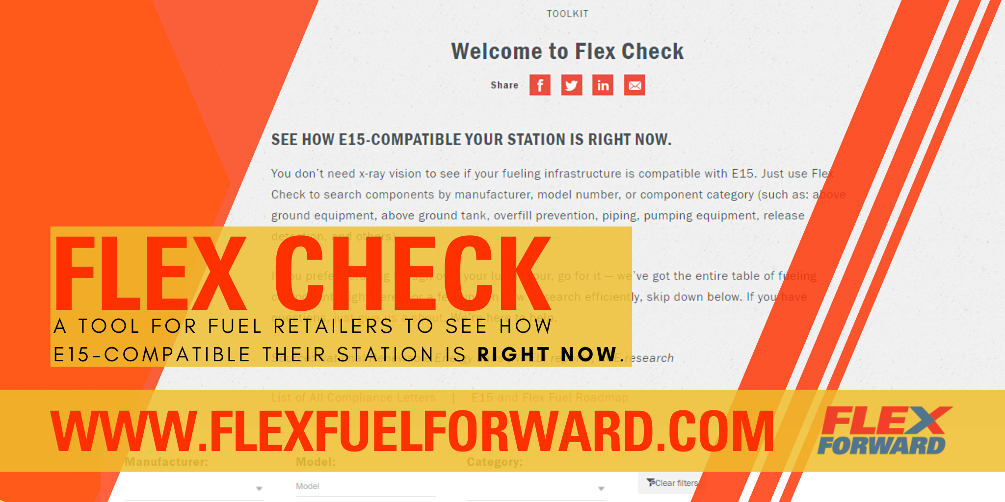 "ACE Helps Retailers Determine E15 Compatibility by Launching ""Flex Check"" Tool"
