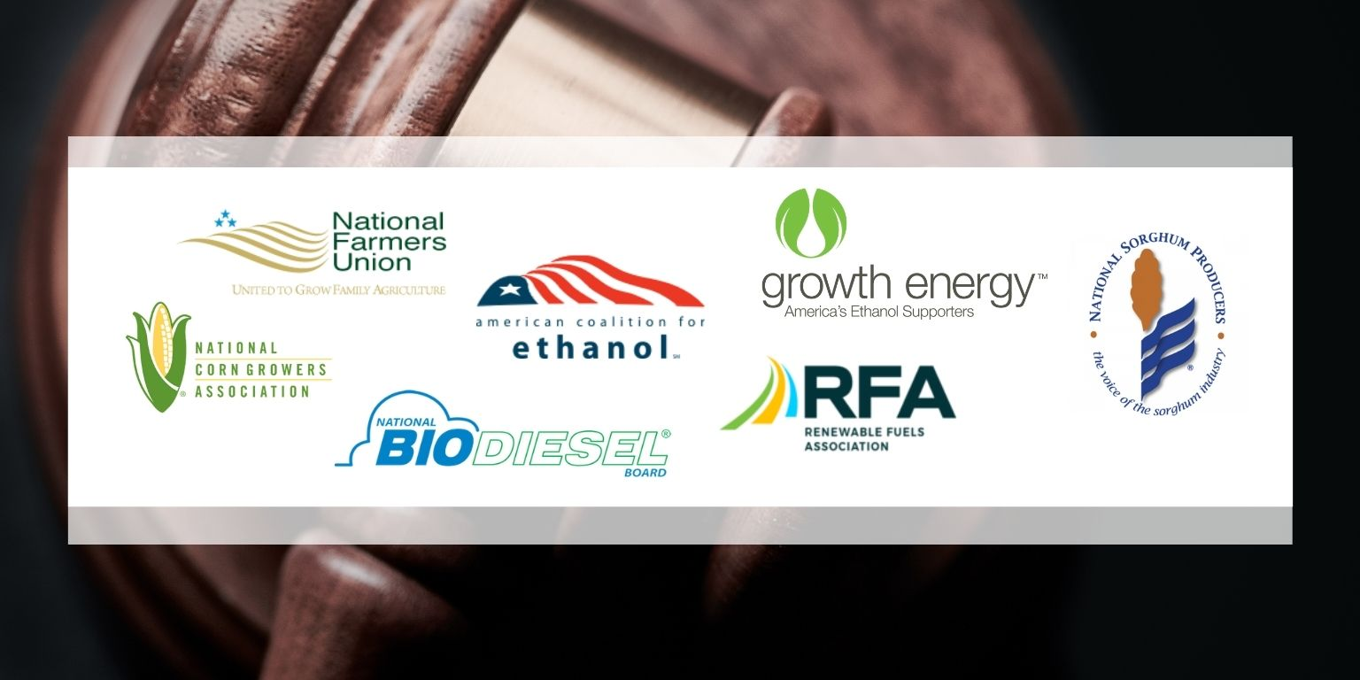 Farm & Biofuel Leaders Urge Courts to Hold EPA Accountable on Improper 2016 Waiver